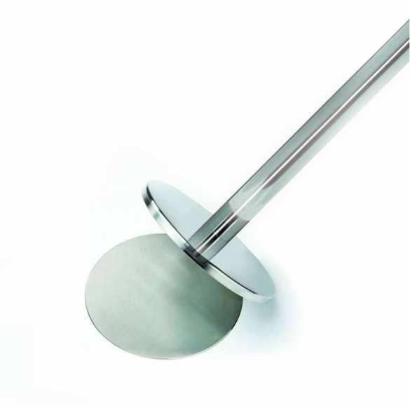 Afzetpaal met magnetische basis (Chroom, 320cm)