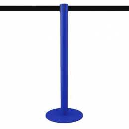 Poteau à sangle 2,5m (bleu, personnalisable) - MASTER