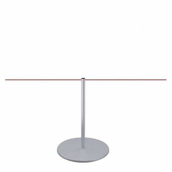 Kleine afzetpaal 45cm (zilver) - LINE MINI
