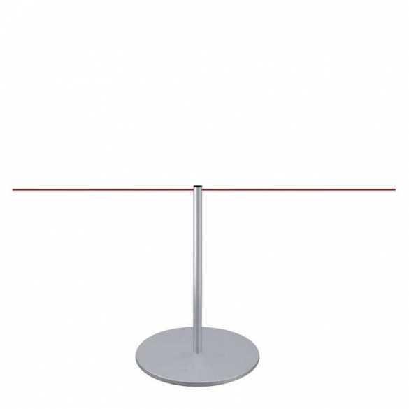 """Poteau de mise à distance 45cm """"Line Mini"""" (Argenté)"""