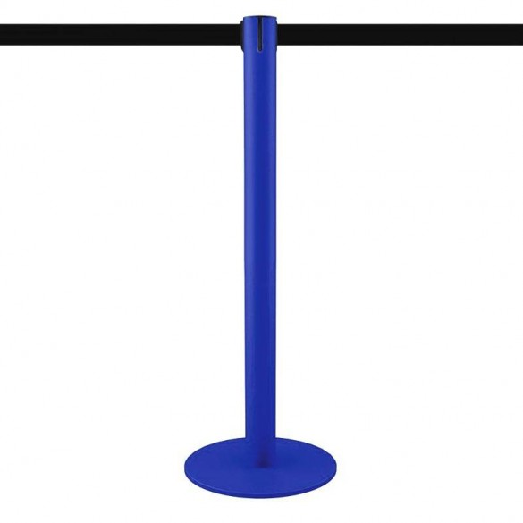 Poteau à sangle 3,2m (bleu, personnalisable) - MASTER