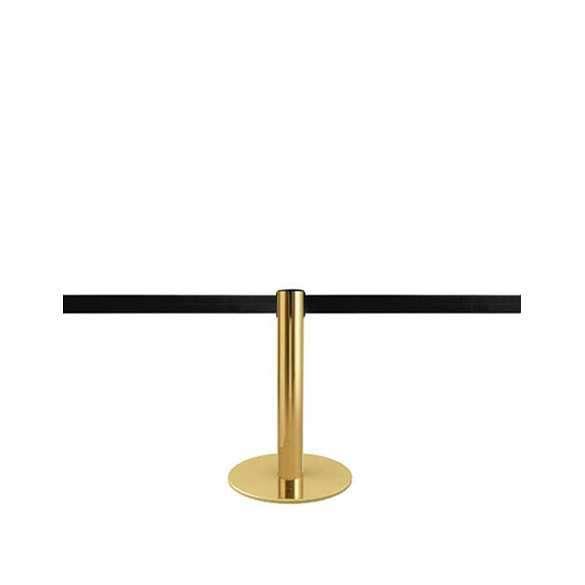 Mini afzetpaaltje goud met 2,5m afzetlint