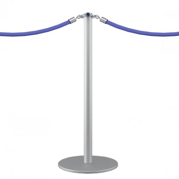 Poteau à corde (argenté) - DESIGN