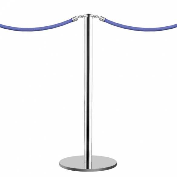 Poteau à corde (Chromé) - Design