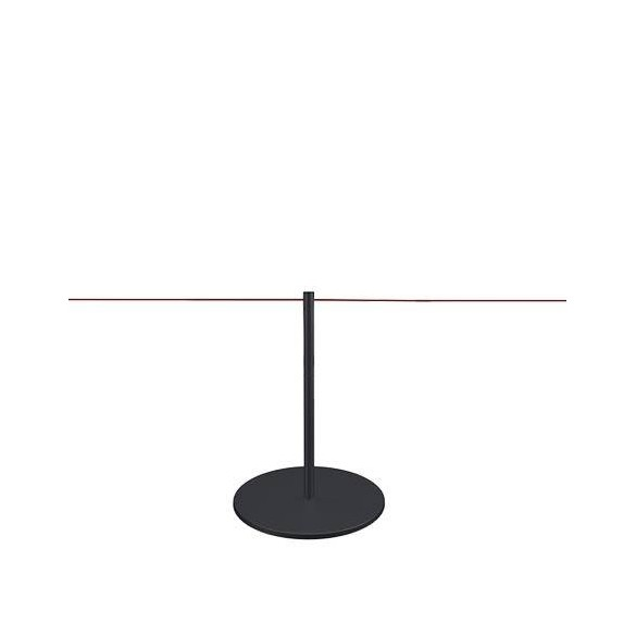 Poteau de mise à distance 45cm (noir) - LINE MINI