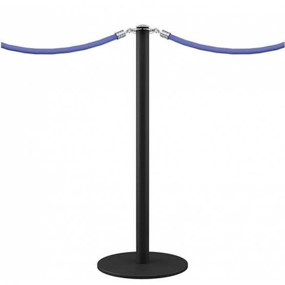 Poteau à corde noir mat - DESIGN