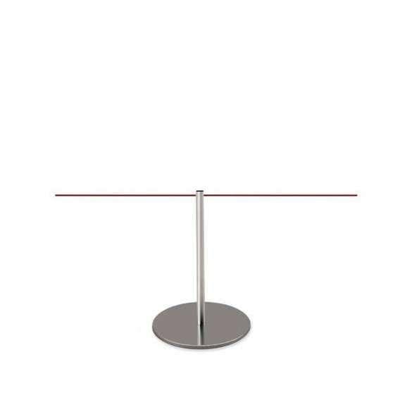 Poteau de mise à distance - inox satiné (45cm) - LINE MINI