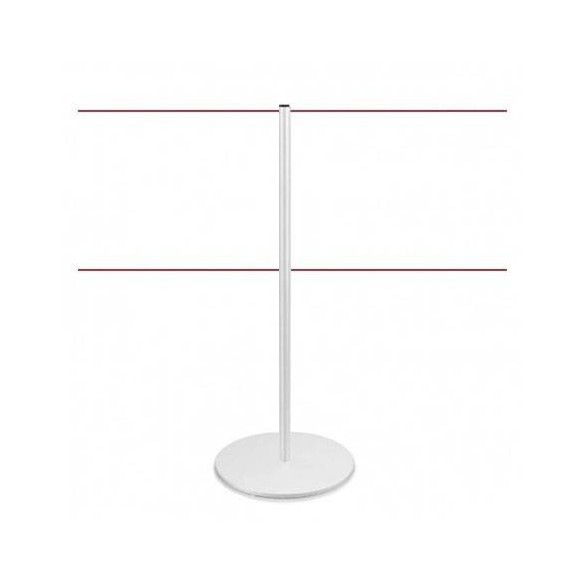 Poteau de délimitation (Blanc) - LINE DUAL