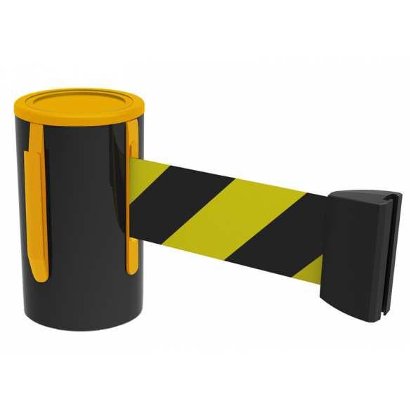 Gurtbandkassette gelb/schwarz