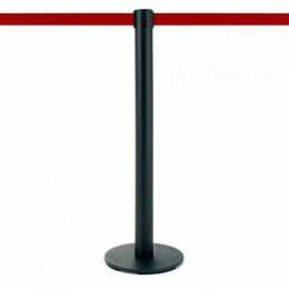 MASTER noir, sangle rouge 320cm - Disponible pour retrait