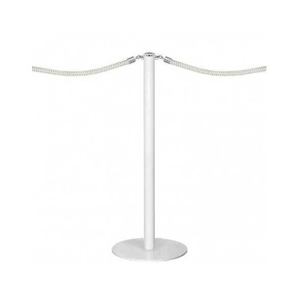 Poteau à corde (blanc laqué) - DESIGN