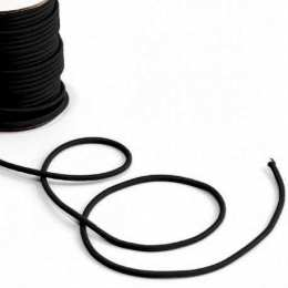 Bobine de corde semi-élastique 25 mètres (noir) - LINE