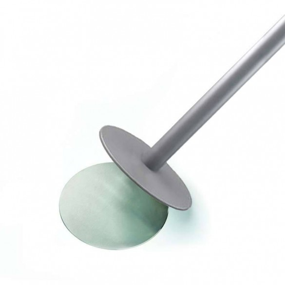Afzetpaaltje met lint op magnetische voet - 3,2m lint
