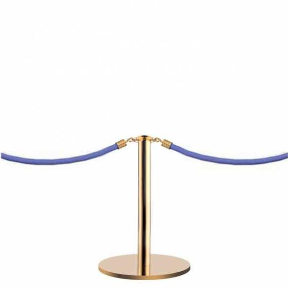 Mini afzetpaal voor koord goud (45cm) - DESIGN