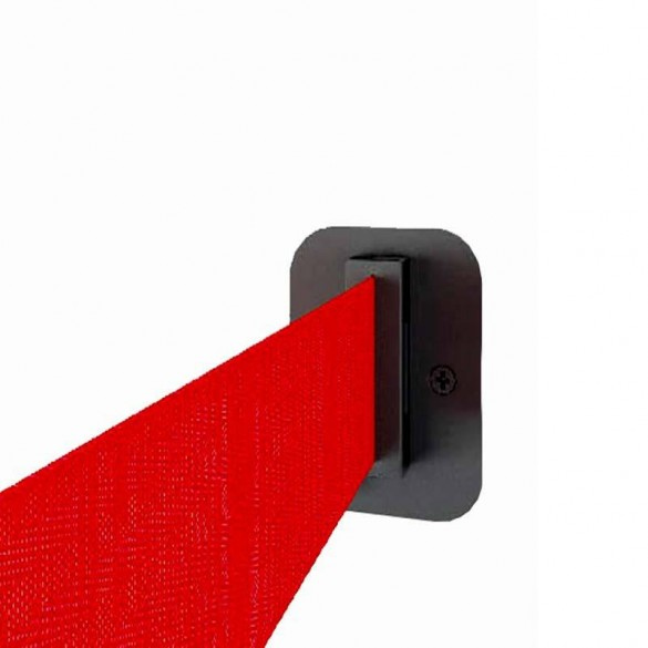 Wandclip für Gurtpfosten und Wandkassetten