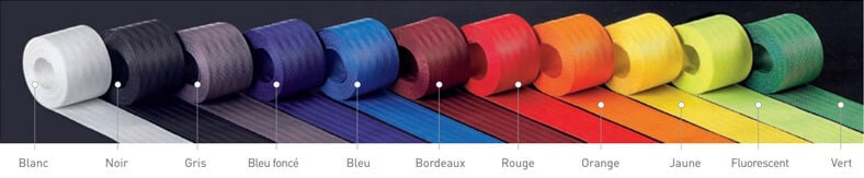 Couleurs de la sangle